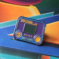 Tiger Electronics Handheld Enamel Pin