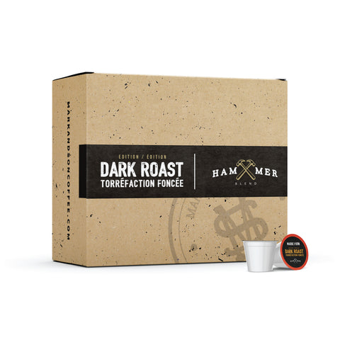 K-Cups® Dark Roast Hammer Blend - 80 COUNT