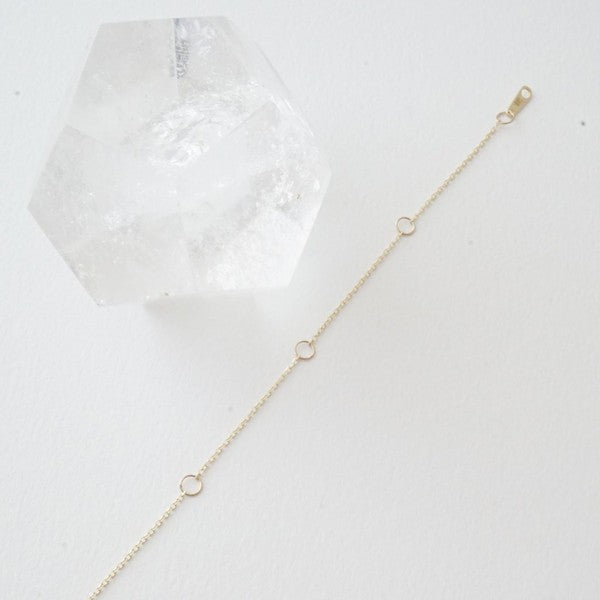 Whisper Thin Adjustable Necklace - 14k Gold