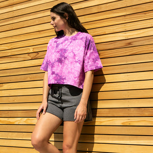 Colorado Crop Top in Pink Tourmaline