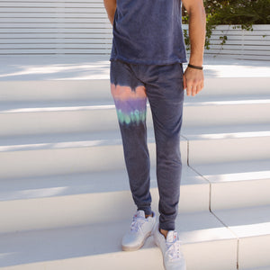 Steel Panel Joggers in Sunset Horizon
