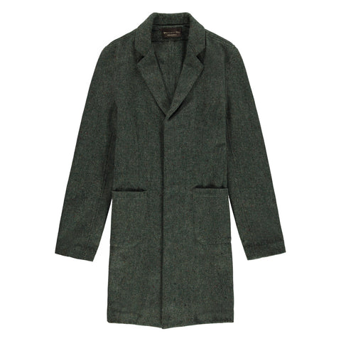 CUSACK OVERCOAT | HEATHER GREEN - Mitchell Evan