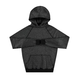 Pullover Hoodie in Black - Mitchell Evan