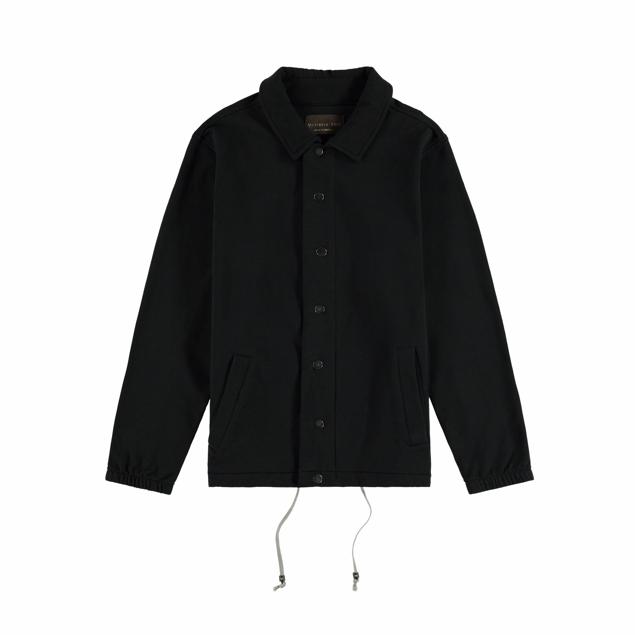 Coaches Jacket in Black - Mitchell Evan