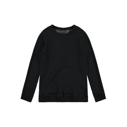CREWNECK SWEATSHIRT | BLACK - Mitchell Evan