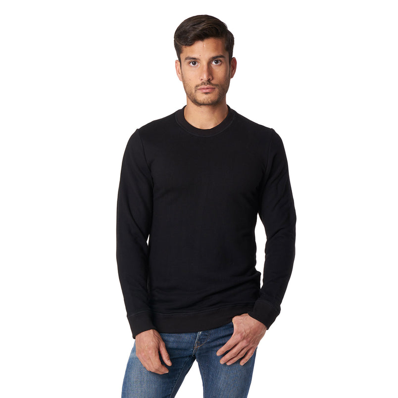 Crewneck Sweatshirt in Black - Mitchell Evan