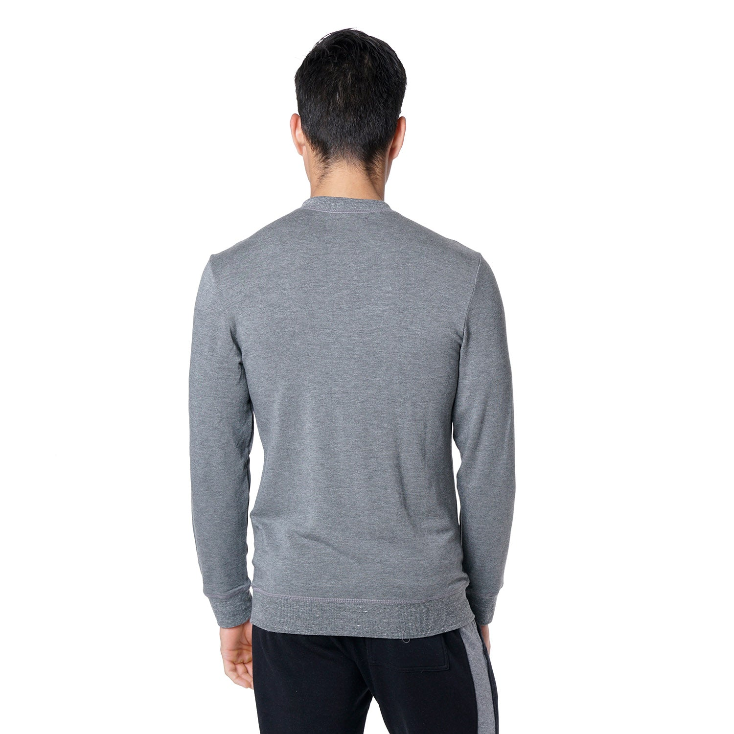 Crewneck Sweatshirt in Grey - Mitchell Evan