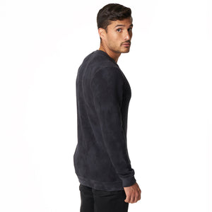 Crewneck Sweatshirt in Charcoal Camo - Mitchell Evan