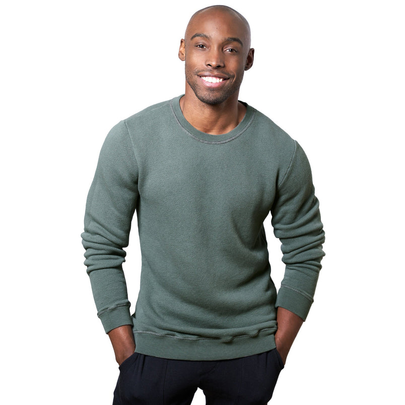 Crewneck Sweatshirt in Dark Forest - Mitchell Evan