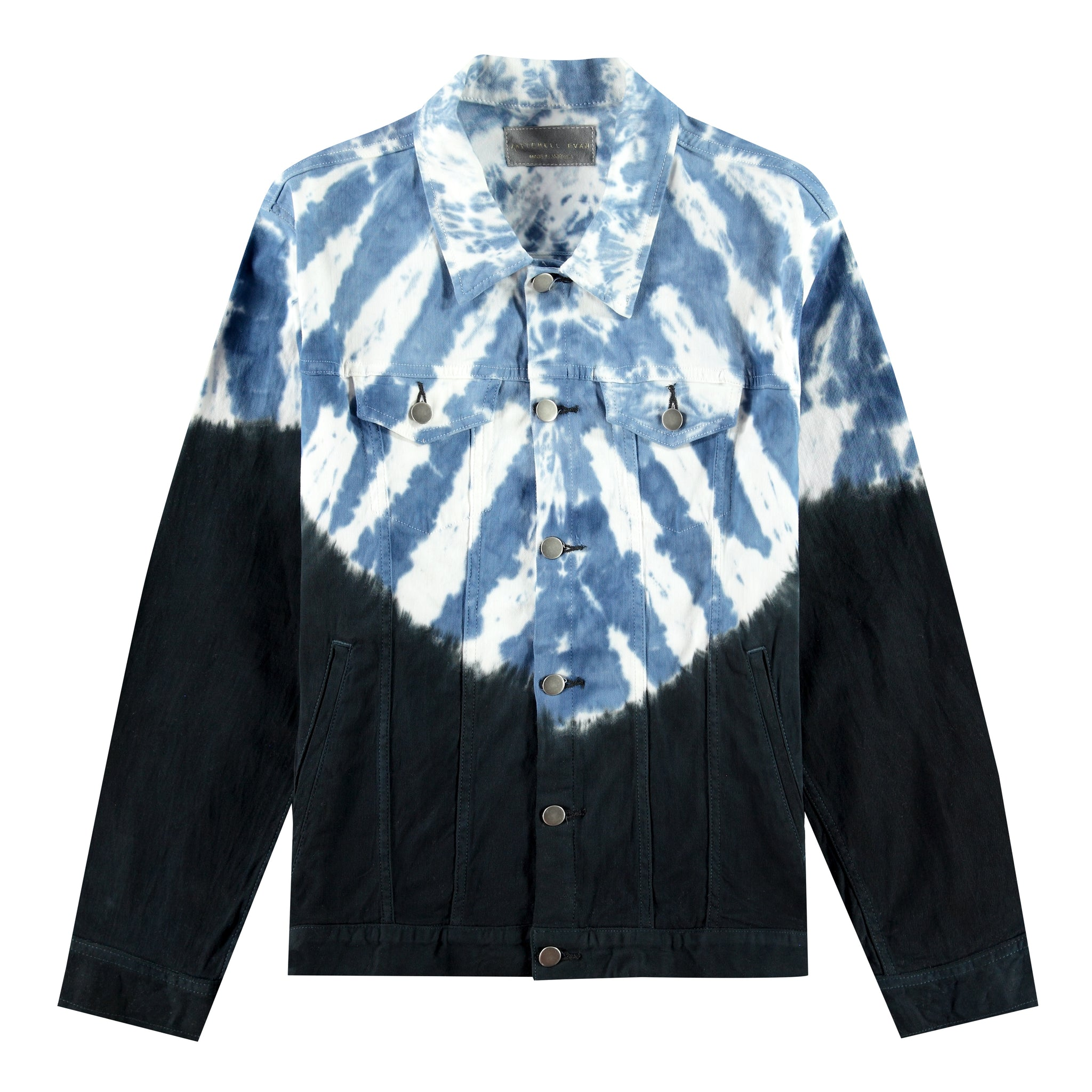 The Rico Twill Jacket in Blue Dye - Mitchell Evan