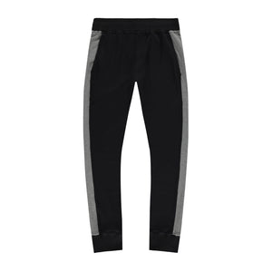 Steel Panel Joggers in Black-Grey - Mitchell Evan