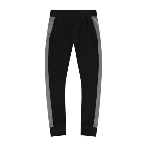 PANEL JOGGERS | BLACK/GREY - Mitchell Evan