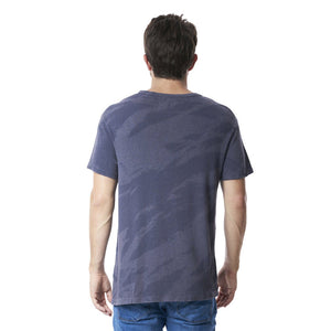 Steve T-Shirt in Grey Crackle - Mitchell Evan