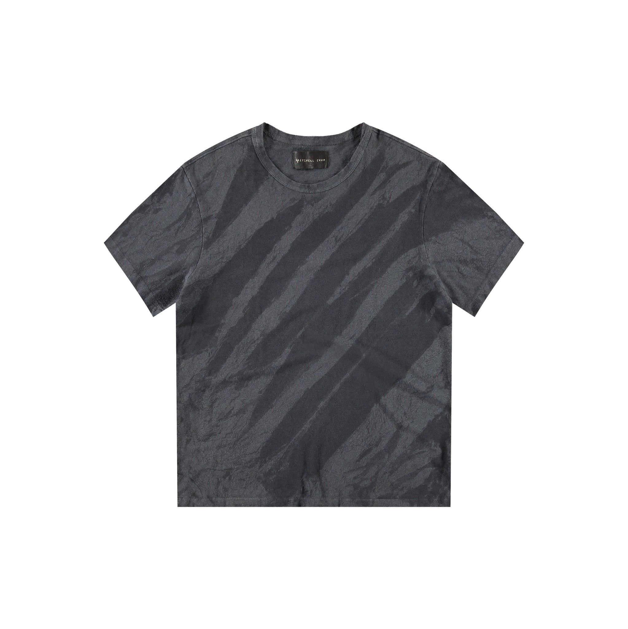 Steve T-Shirt in Dark Grey Crackle - Mitchell Evan