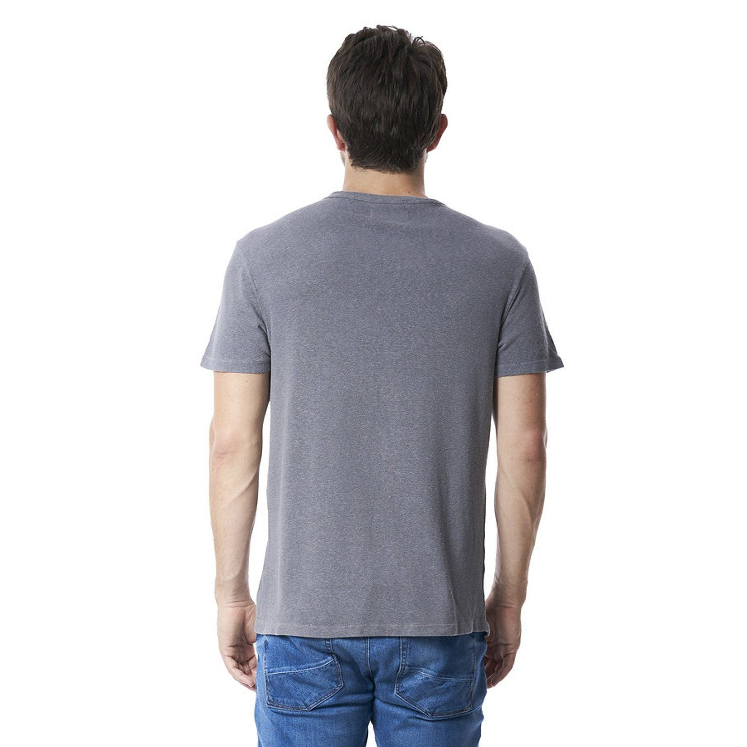 Steve T-Shirt in Grey - Mitchell Evan