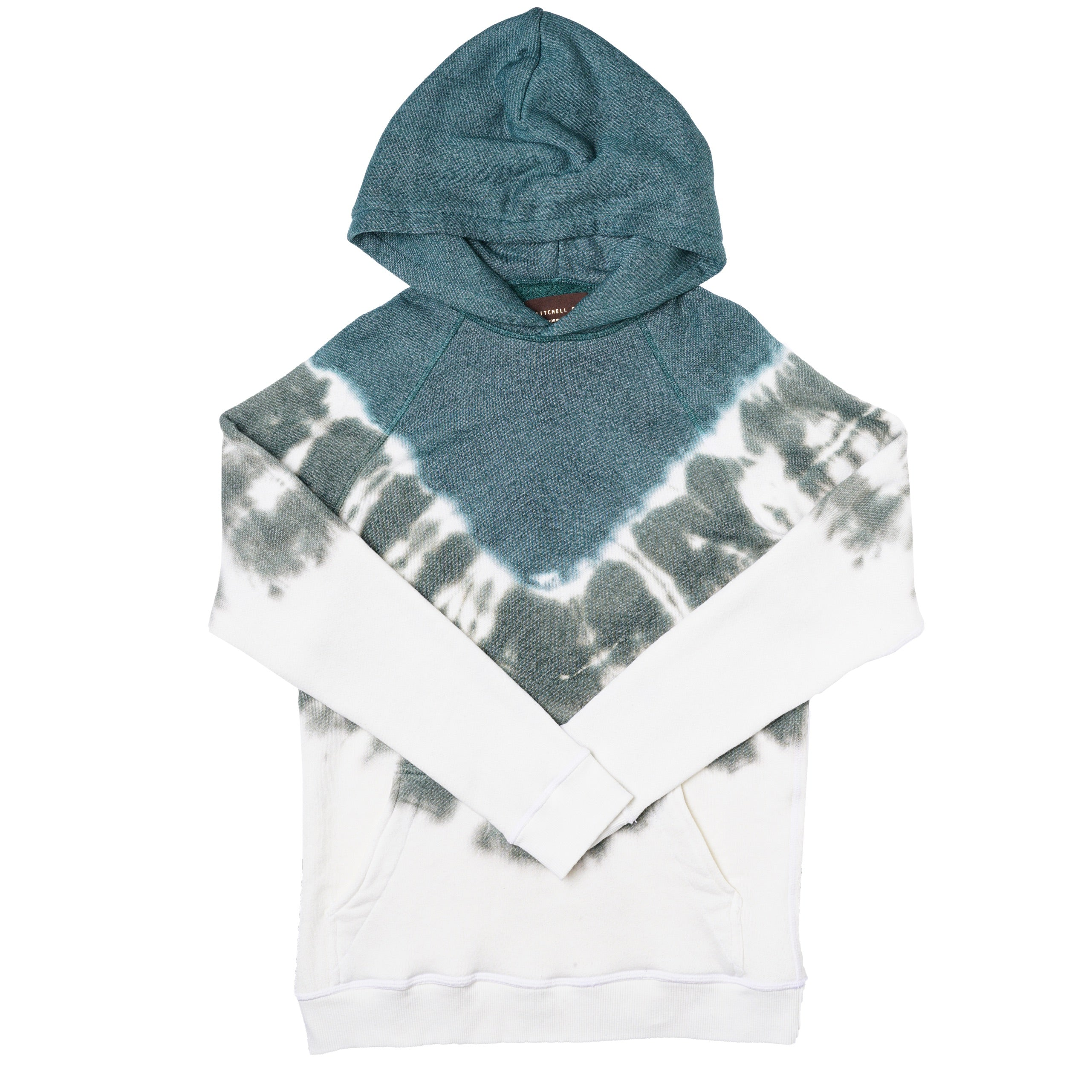 Pullover Hoodie in Pine Dye - Mitchell Evan