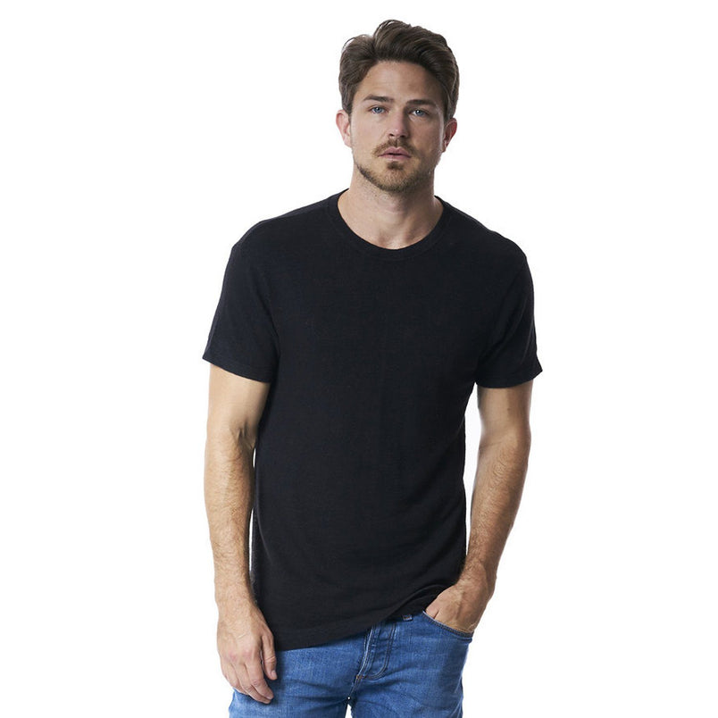 Taz T-Shirt in Hemp Black - Mitchell Evan
