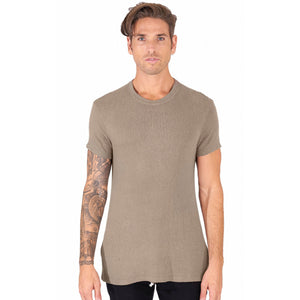 Taz T-Shirt in Khaki - Mitchell Evan