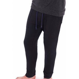 Fleece Joggers in Black - Mitchell Evan