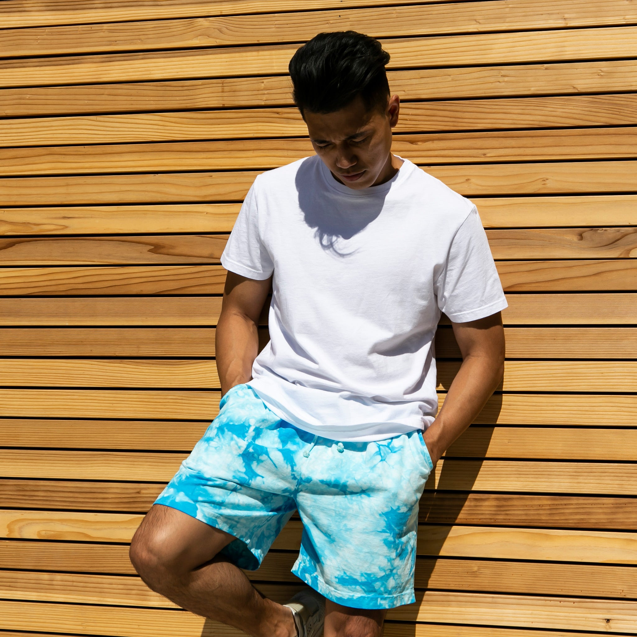 San Diego Shorts in Aquamarine