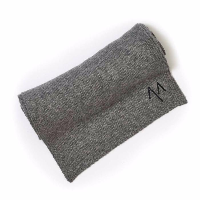 Cashmere Scarf in Grey - Mitchell Evan