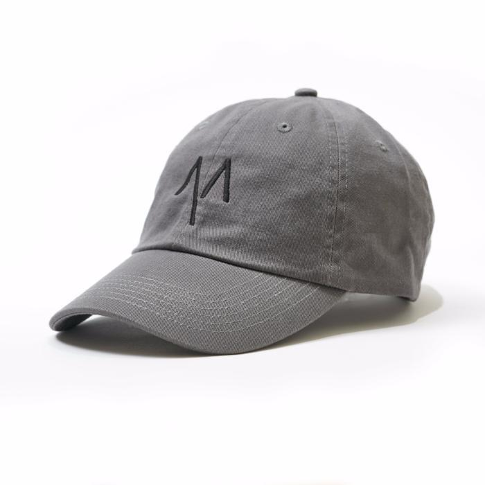 Dad Hat in Grey - Mitchell Evan