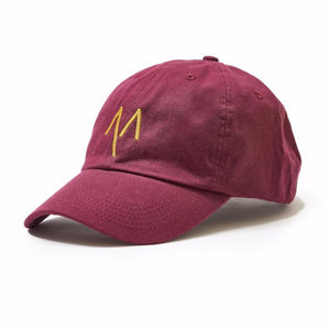 Dad Hat in Maroon - Mitchell Evan