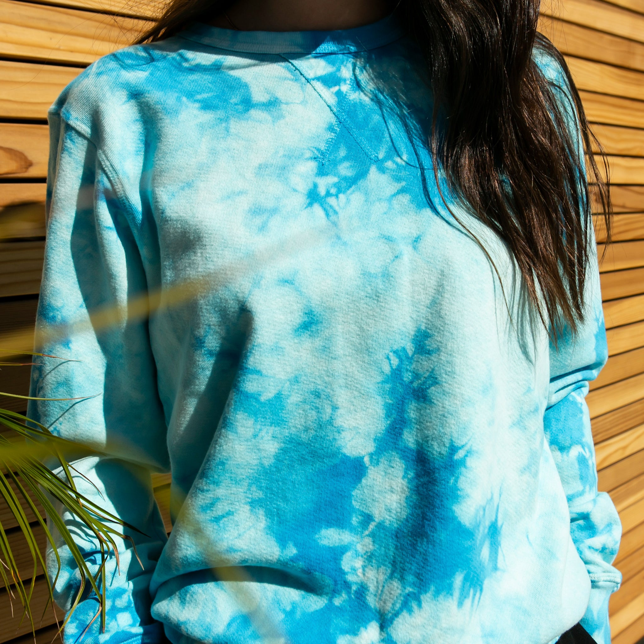 Montana Crewneck Sweatshirt in Aquamarine