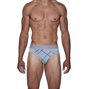Wood Hip Brief in Crosscut