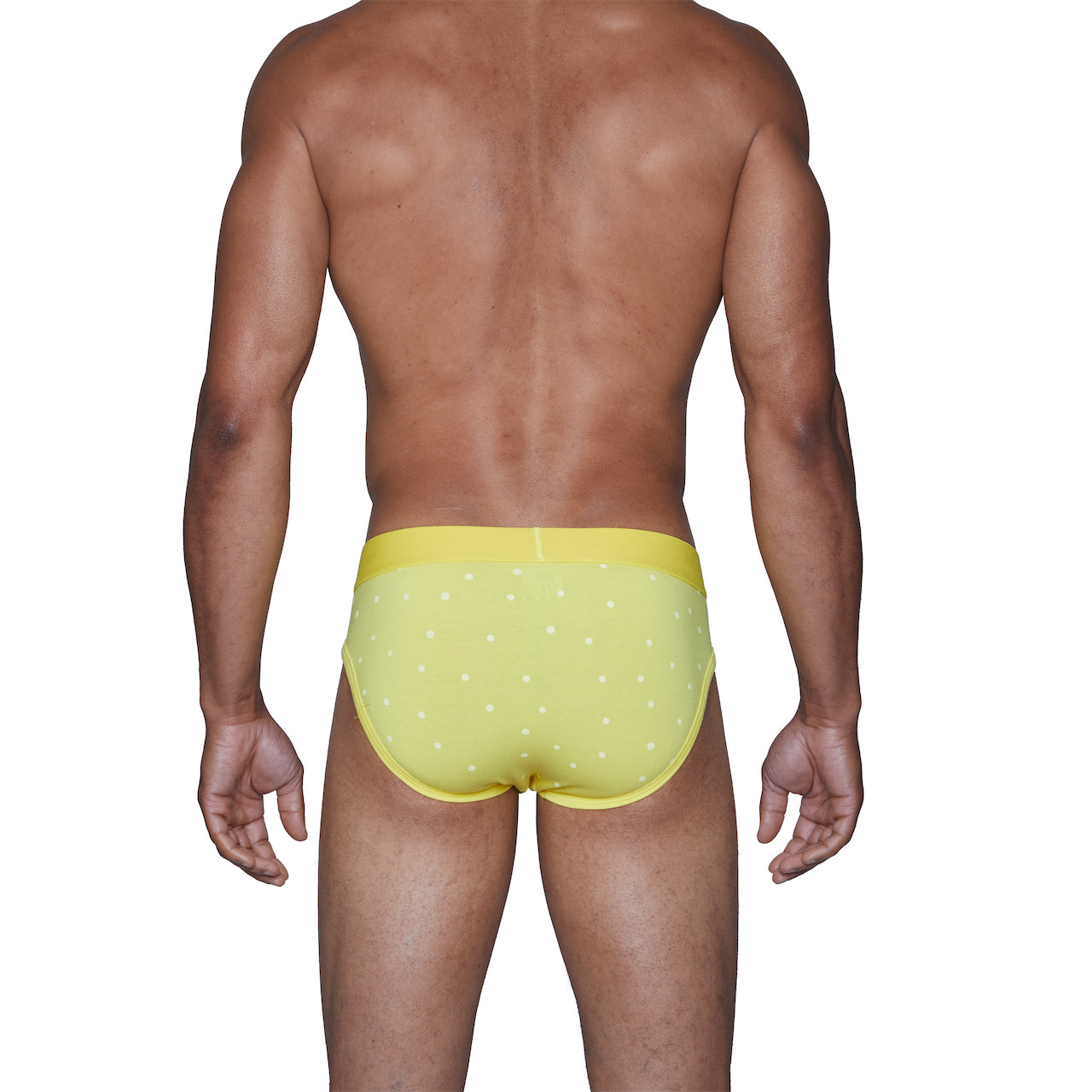 Wood Hip Brief in Round the Sun Yellow