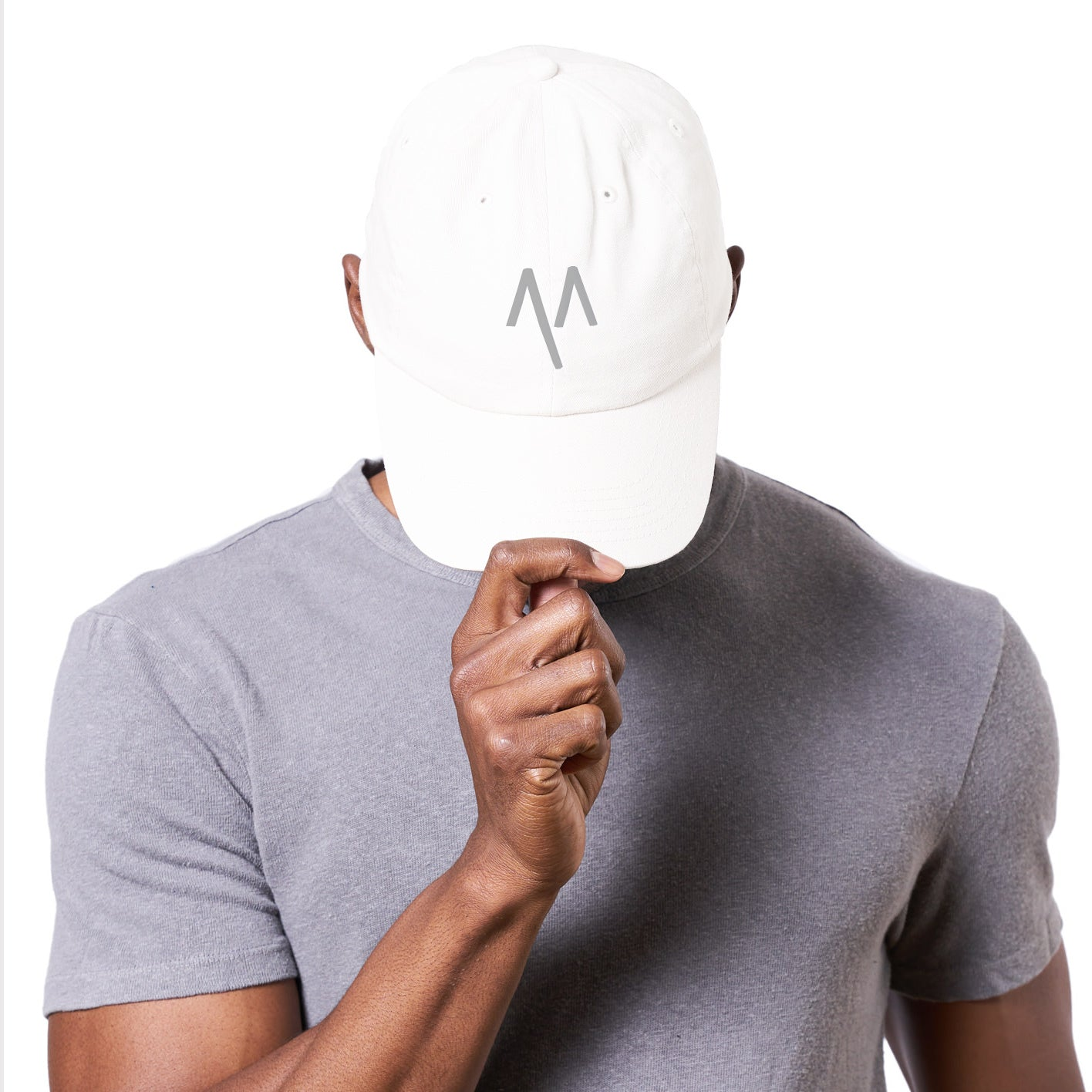Dad Hat in White