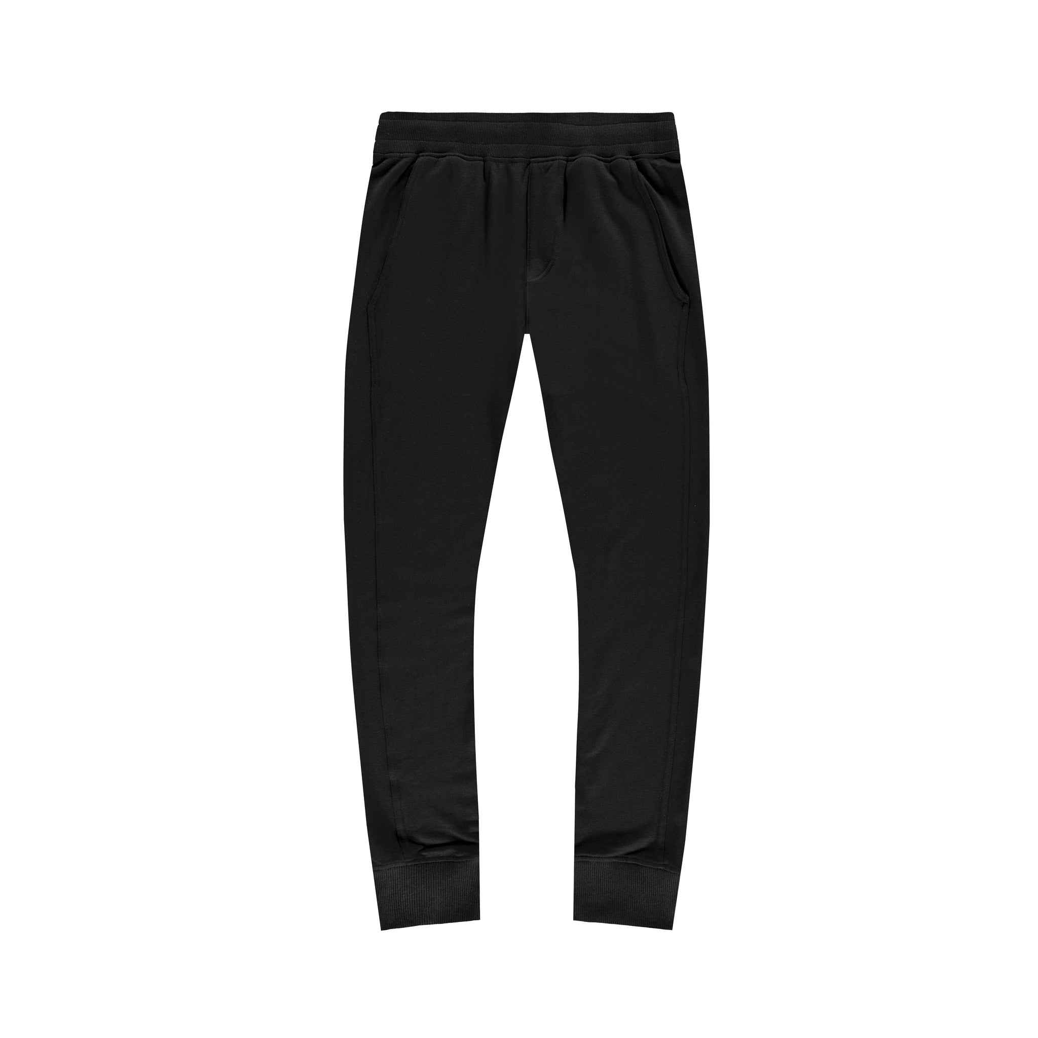 Panel Joggers in Black - Mitchell Evan