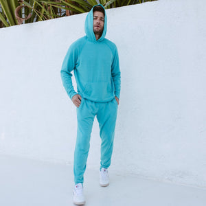 Steel Panel Joggers in Teal