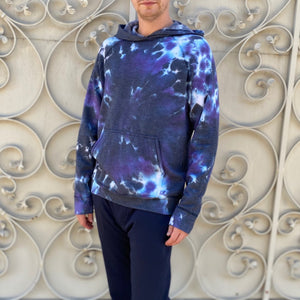 Malibu Hoodie in Purple Galaxy