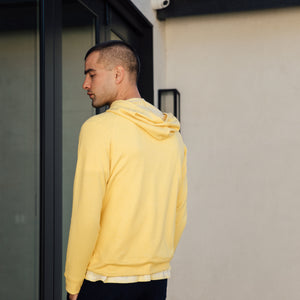 Malibu Hoodie in Sunshine Yellow - Mitchell Evan