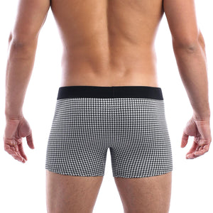 Wood Boxer Brief in BW Hound
