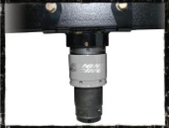 JK Hydraulic Bump Stop Mount System, Back