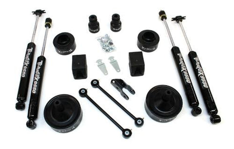 "JK Wrangler 2.5"" Performance Budget Boost w/shocks"