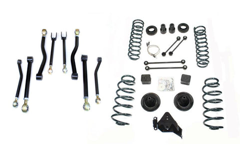 "JK Wrangler 3"" Suspension System w/Full FlexArm System without shocks"