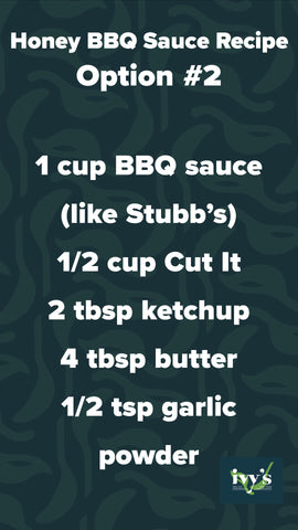 Honey BBQ Recipe with store-bought BBQ sauce