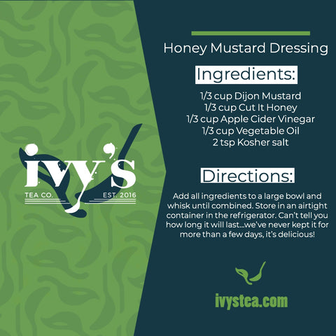 Ivy's Tea Co. recipe graphic.
