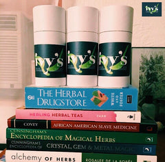 Image of Ivy's Tea Co. teas and herbal books