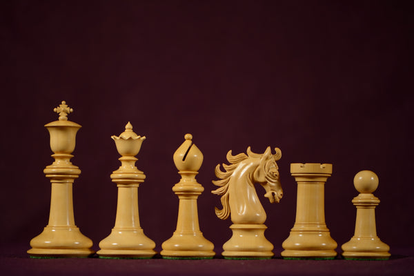 "The Sovereign Chessmen - Ebony - 4.4"" King - SPECIAL OFFER"