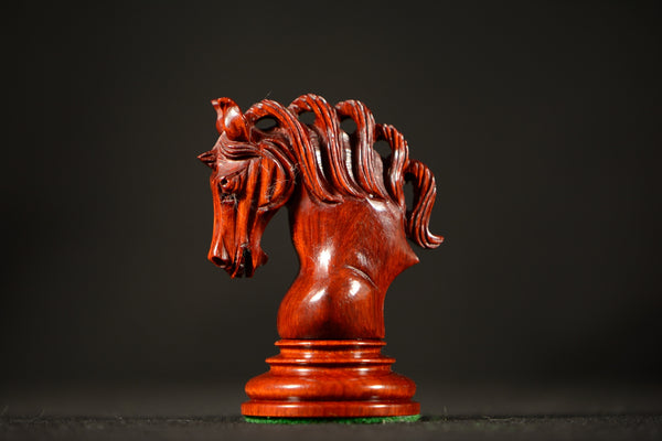 "The Rajan Chessmen - Padauk - 4.4"" King"