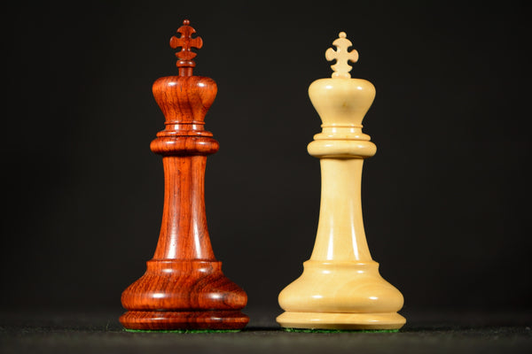 "The Padishah Chessmen - Padauk - 4.0"" King"