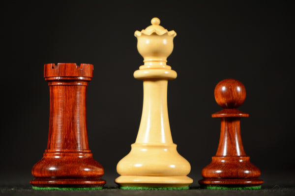 "The Padishah Chessmen - Padauk - 4.4"" King"