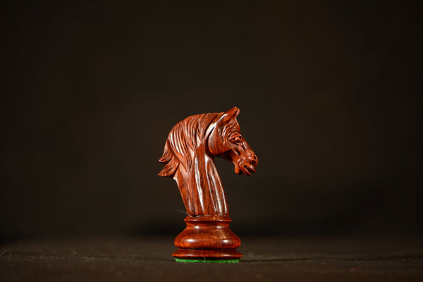 "The Resolute Chessmen - Padauk - 4.0"" King"