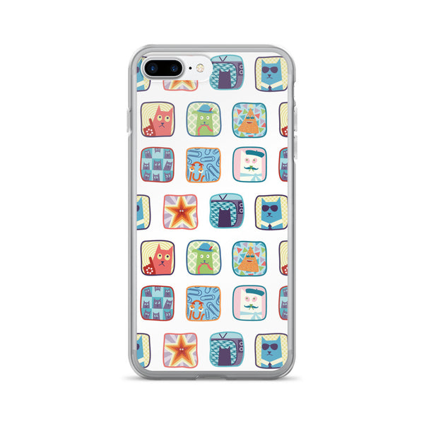 SideReel Badges iPhone 7/7 Plus Case