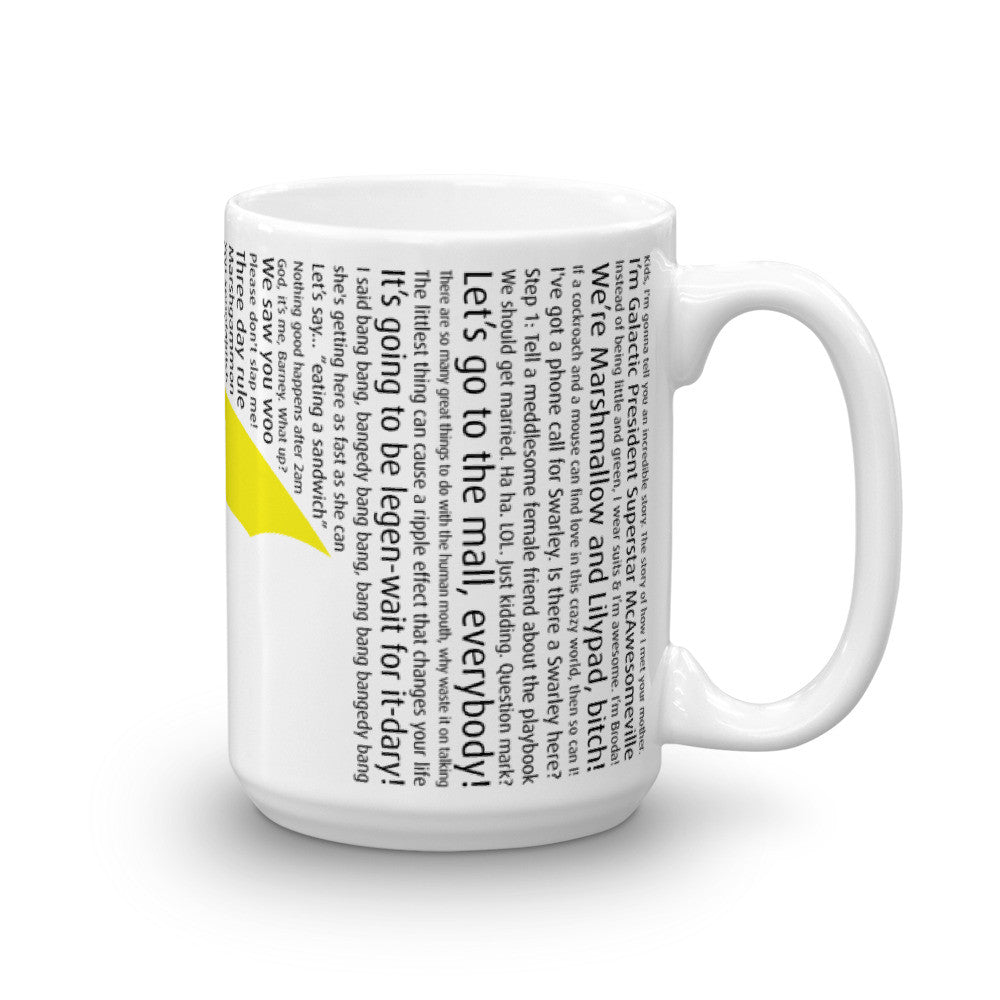 Yellow Umbrella Mug
