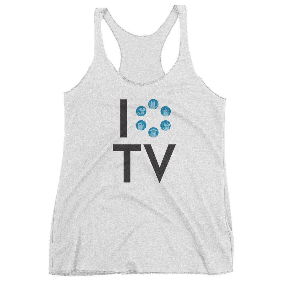 I Love TV Women's Tank Top